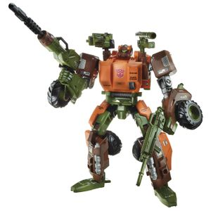 [Transformers: Generations: Voyager Wave 7 Action Figures: Roadbuster (Product Image)]