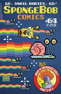 [The cover for Spongebob Comics #64]