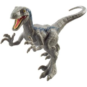 [Jurassic World: Fallen Kingdom: Attack Pack Action Figure: Velociraptor Blue (Product Image)]
