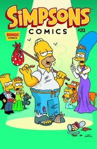 [Simpsons Comics #213 (Product Image)]
