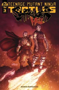 [Teenage Mutant Ninja Turtles: Shredder In Hell #3 (Cover A Santolouco) (Product Image)]