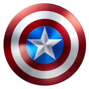 [Marvel Legends: Prop Replica: 75th Anniversary Captain America Shield (Product Image)]