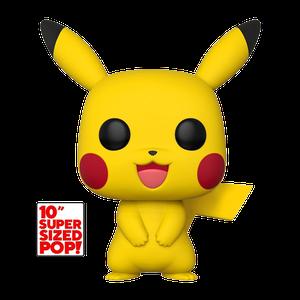[Pokémon: 10 Inch Pop! Vinyl Figure: Pikachu (Product Image)]