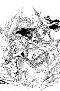 [Dejah Thoris: Winters End: One Shot (Premium Castro B&W Virgin Variant) (Product Image)]