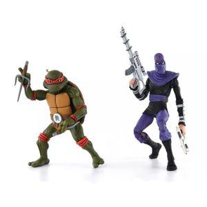 [Teenage Mutant Ninja Turtles Cartoon: Action Figure 2-Pack: Raphael V Foot Soldier (Product Image)]