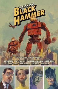 [World Of Black Hammer: Library Edition: Volume 2 (Hardcover) (Product Image)]