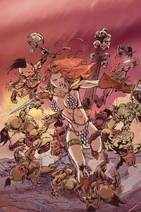 [Red Sonja #17 (Cosplay Virgin Variant) (Product Image)]