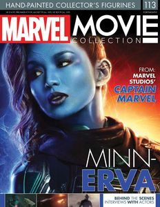[Marvel Movie Collection #113: Min-Erva (Product Image)]