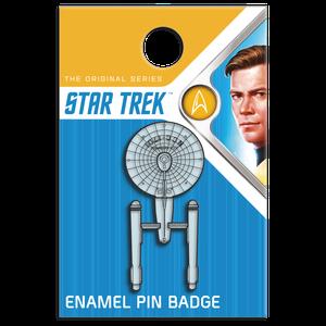 [Star Trek: The Original Series: Enamel Pin Badge: Enterprise (NCC-1701) (Product Image)]