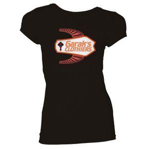 [Star Trek: Deep Space Nine: Women's Fit T-Shirt: Garak's Clothiers (Black) (Product Image)]