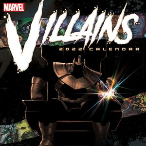[Marvel Villians: 2022 Official Calendar (Product Image)]