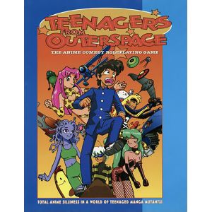 [Teenagers From Outer Space: RPG: Core Rulebook (Product Image)]