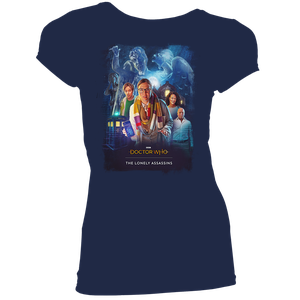 [Doctor Who: The Lonely Assassins: Women's Fit T-Shirt: Game Poster (Product Image)]