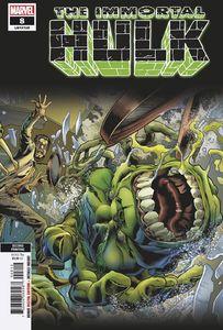 [Immortal Hulk #8 (2nd Printing Bennett Variant) (Product Image)]