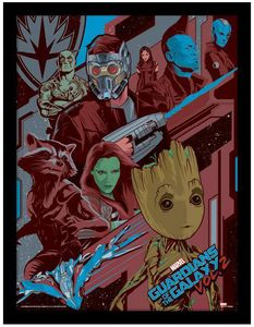 [Guardians Of The Galaxy Vol. 2: Framed Print: Galactic (Product Image)]