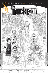 [Locke & Key/Sandman: Hell & Gone #1 (Rodrique Black & White Variant) (Product Image)]
