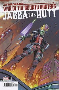 [Star Wars: War Of The Bounty Hunters: Jabba The Hutt #1 (Coello Variant) (Product Image)]