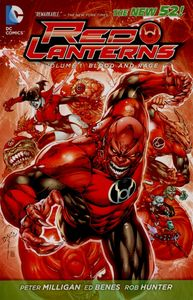 [Red Lanterns: Volume 1: Blood And Rage (Product Image)]