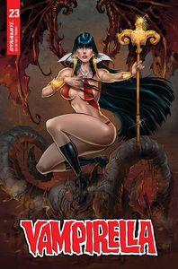 [Vampirella #23 (Cover O Premium White Variant) (Product Image)]