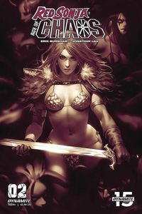 [Red Sonja: Age Of Chaoss #2 (Chew Monochromatic Variant) (Product Image)]