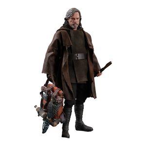 [Star Wars: The Last Jedi: Hot Toys Deluxe Action Figure: Luke Skywalker (Product Image)]