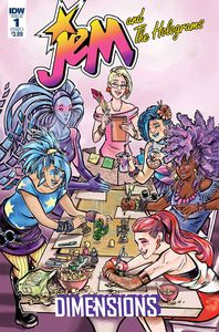 [Jem & The Holograms: Dimensions #1 (Cover A Ford) (Product Image)]