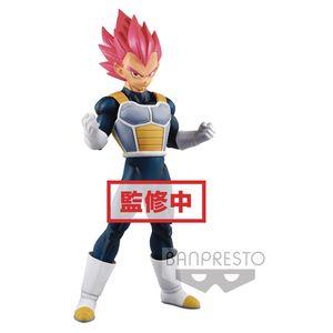 [Dragon Ball Super Movie: Cyokoku Buyuden Statue: Super Saiyan God Vegeta (Product Image)]