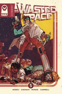 [Wasted Space #5 (Cover B Sherman Variant) (Product Image)]