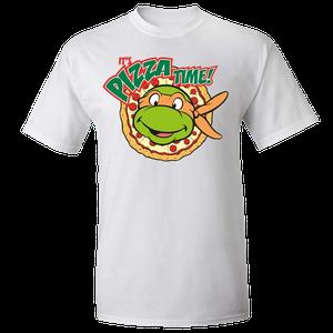 [Teenage Mutant Ninja Turtles: T-Shirt: It's Pizza Time! (Product Image)]