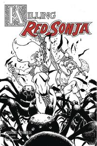 [Killing Red Sonja #3 (Castro Black & White Variant) (Product Image)]