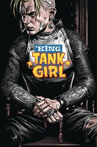 [King Tank Girl #3 (Cover B Wahl Cardstock) (Product Image)]