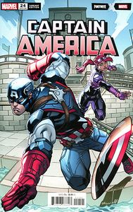 [Captain America #24 (McGuinness Fortnite Variant) (Product Image)]