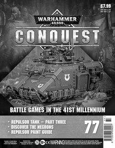 [Warhammer 40K: Conquest: Figurine Collection #77 (Product Image)]