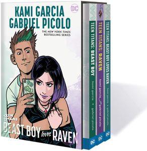 [Teen Titans: Raven, Beast Boy & Beast Boy Loves Raven (Box Set) (Product Image)]