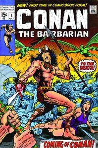 [Conan The Barbarian: Omnibus: Volume 1 (Dm Variant - Hardcover) (Product Image)]