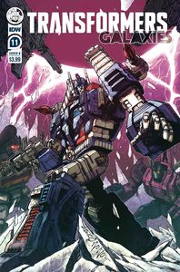 [Transformers: Galaxies #11 (Cover B Milne) (Product Image)]