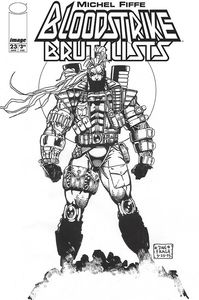[Bloodstrike #23 (Cover D Fraga B&W) (Product Image)]
