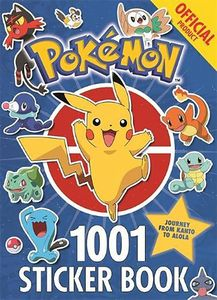 [The Official Pokemon 1001 Sticker Book (Product Image)]