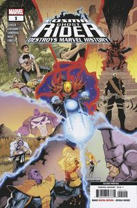 [Cosmic Ghost Rider: Destroys Marvel History #1 (2nd Printing) (Product Image)]