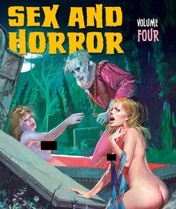 [Sex & Horror: The Art Of Pino Dangelico (Hardcover) (Product Image)]