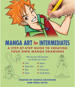 [Manga Art for Intermediates: A Step-by-Step Guide to Creating Your Own Manga Drawings (Product Image)]