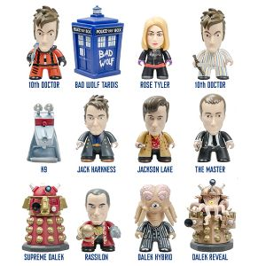 [Doctor Who: TITANS: 10th Doctor: Gallifrey Collection (Complete Display) (Product Image)]