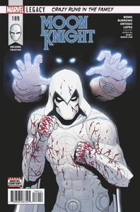[Moon Knight #189 (2nd Printing Burrows Variant) (Legacy) (Product Image)]
