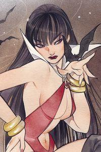[Vampirella #14 (Momoko Sneak Peek Virgin Variant) (Product Image)]