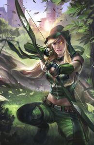 [Grimm Fairy Tales: Robyn Hood I Love NY #11 (Cover A Burns) (Product Image)]