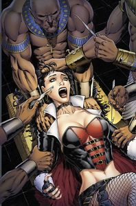 [Grimm Fairy Tales: Van Helsing Vs The Mummy Of Amun Ra #4 (Cover D Metc) (Product Image)]
