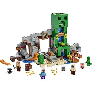 [LEGO: Minecraft: The Creeper Mine (Product Image)]