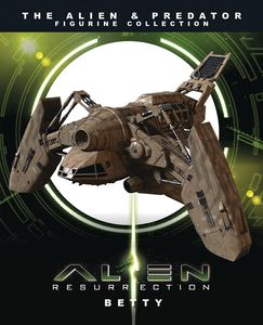 [Alien/Predator Figurine Ship Magazine #7: Betty (Product Image)]