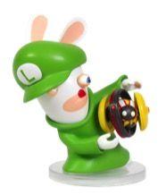 [Mario & Rabbids Kingdom Battle: 3 Inch Figurine: Rabbid Luigi (Product Image)]