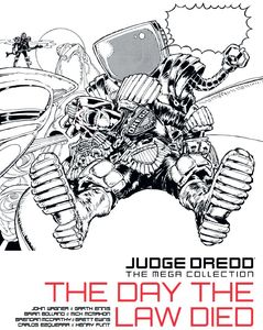 [2000AD: Judge Dredd: Mega Collection: Issue 41: The Day The Law Died (Product Image)]